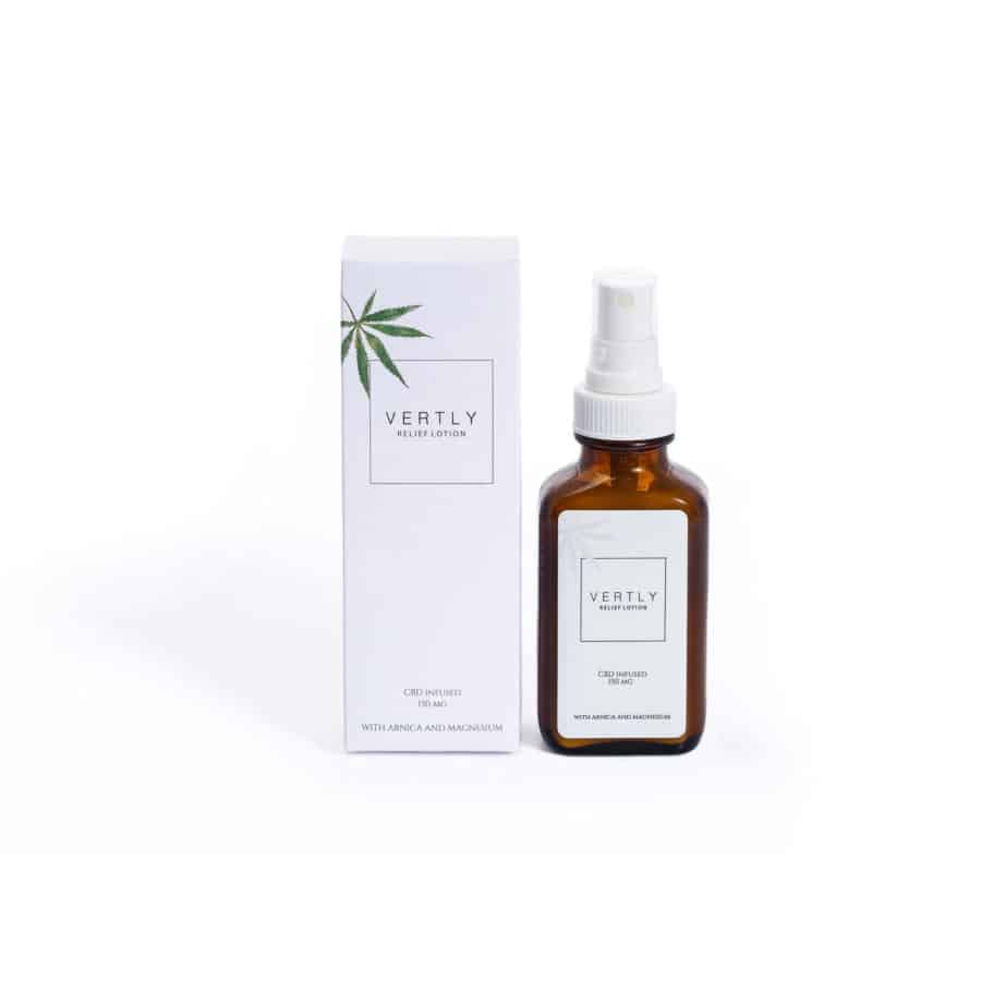 hemp cbd infused relief lotion vertly