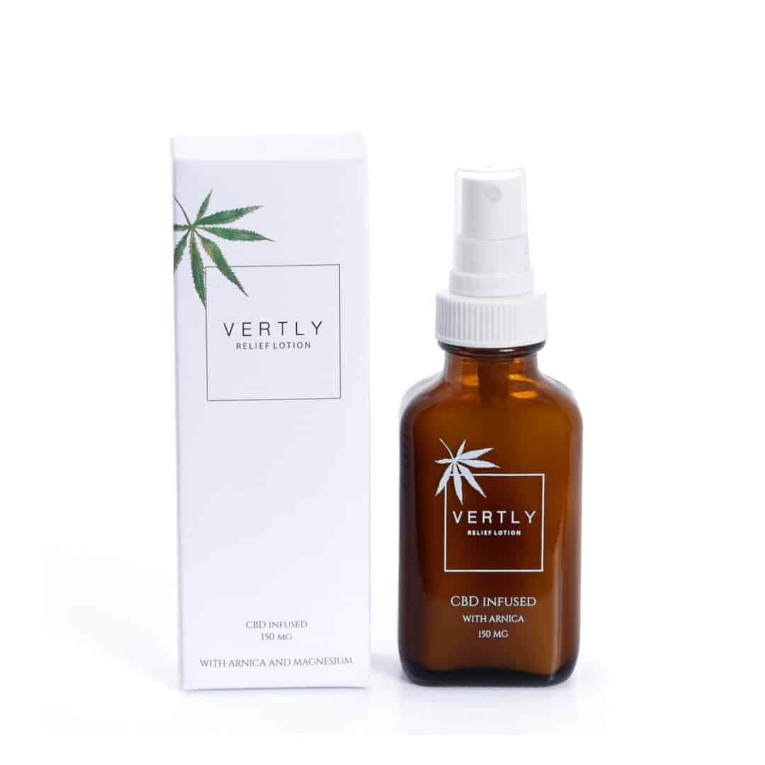 HEMP CBD INFUSED RELIEF LOTION - VERTLY